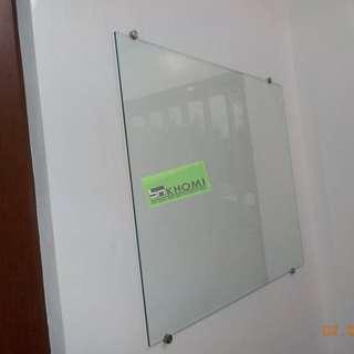 CUSTOMIZE GLASS BOARD (TEMPERED GLASS)--KHOMI