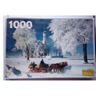 Fame Jigsaw Puzzle - 1000 pieces - Allgaus St. Coloman