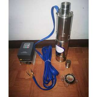 250w Solar Submersible Pump for Deep Well