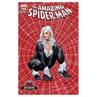 Amazing Spider-Man #799 Colour & Sketch ( HOT Variant by Frank cho)