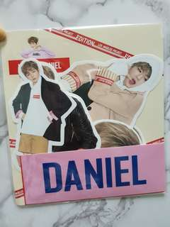 Rare Kang Daniel x LAP Korea sticker Set Limited Edition WANNA ONE