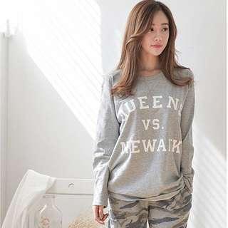 🧡 Grey Pyjama Set