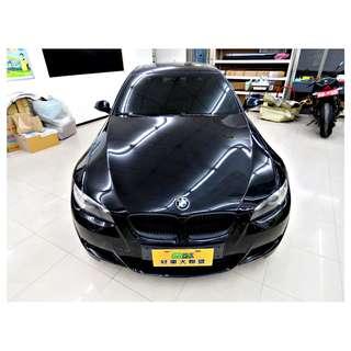 『上嘉汽車』2007年 BMW-335I 3.0黑-免鑰匙啟閉.循跡防滑控制