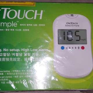One Touch Sugar Test
