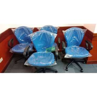 CC-812TGA Clerical Chair Color  BLUE--KHOMI