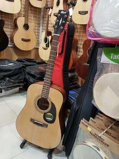 Gitar Cort W/QE CJ1F-NS & gigbag case Cukup Bayar Admin 199.000
