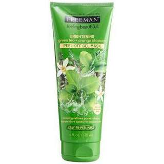 Freeman Green Tea + Orange Blossom - Peel off Gel Mask