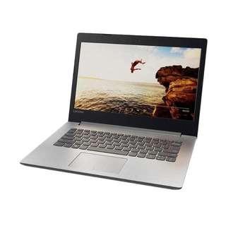 Laptop Gaming Lenovo Ip320 amd A9 Bisa di cicil tanpa kartu credit