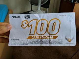 $100 ASUS Cash Voucher