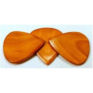 US Blues Maple Tone Wood Guitar Pick Plectrum