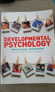 PL3234 Developmental Psychology Textbook (no highlights)