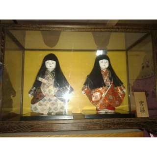 Twin Japanese Dolls