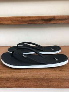 Nike Black Slippers
