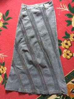 rok sepan jeans levis streech