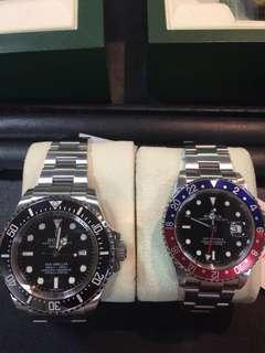 Rolex pepsi and dssd