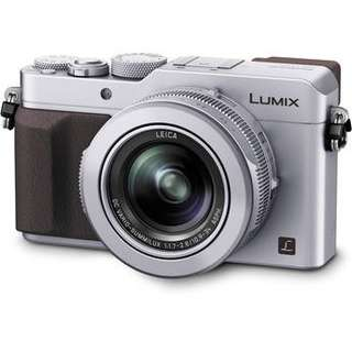 PanasonicLumix DMC-LX100 Digital Camera (Silver)