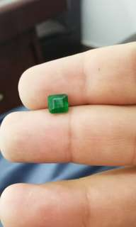 2 crts Emerald Faceted from Swat Pakistan