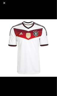 Germany 2014 World Cup jersey- xl