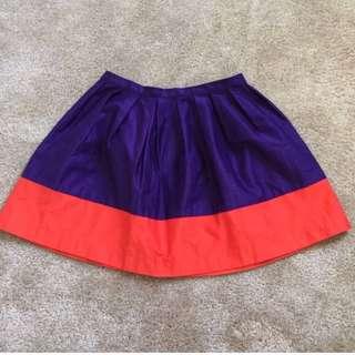 Topshop petite puff skirt