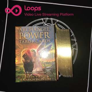 Live Tarot and Oracle cards reading