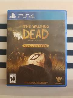 PS4 The Walking Dead Collection The Telltale Series