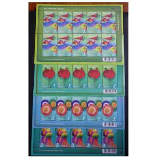 Thailand 2018 National Children's Day Stamp Stamps Sheet 4 MNH