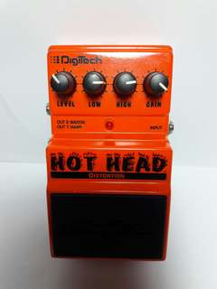 Hot Head Distortion Pedal by Digitech