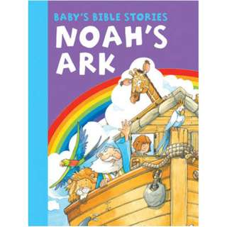 (NEW) Baby's Bible Stories: Noah's Ark Board Book by Peter Rutherford