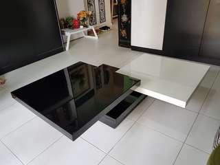 Coffee Table - Black white