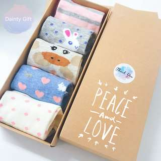 ❤️ Sweet Animals Ankle Socks