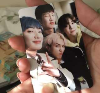 (WTB) WINNER EVERYDAY GROUP PHOTOCARD