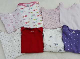 Baby girl onesies 0-6 months