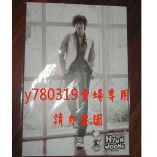 【金賢重 宇宙神 海報】 SS501 KIM HYUN JOONG U:ZOOSIN