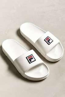 FILA Drifter Box Logo Slide Sandal [PO]