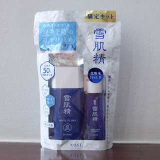 Kose Sekkisei UV Milk & Medicated