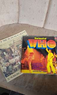 Vinyl the who + bad manners