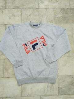 Vintage Fila Crewneck Sweatshirt Pullover Sweater