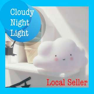★Cute Cloud Night Light★ BPA-FREE SILICON MATERIAL