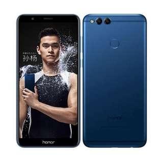 Bisa Kredit Huawei Honor 7x 4/64GB Blue Garansi Resmi