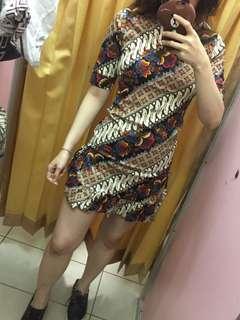 Dress Rumbai Batik