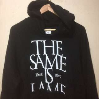 """Hoodie Pharrell Williams """"The Same Is Lame"""" think other."""