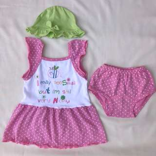Preoved Dress for Baby 3-6M
