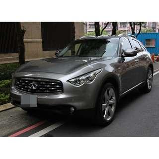 極致2010FX35 3.5 灰 小改款 4WD 6 ikey 306匹大馬力
