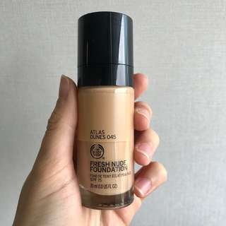 Body Shop Fresh Nude Foundation