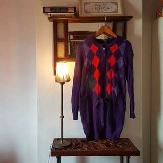 Gant Knitted Dress Sweater