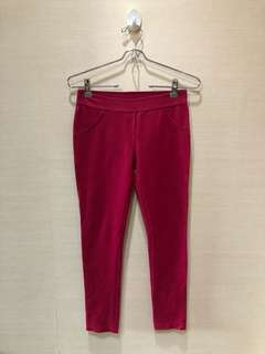 Here&There red jegging
