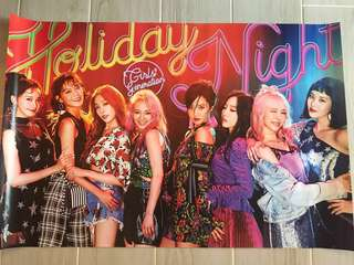 少女時代正規6輯Holiday Night Poster VersionA&B