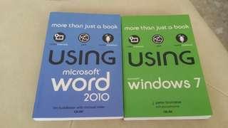 Using microsoft word 2010/windows 7