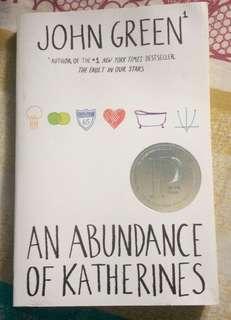 John Green's An Abundance of Katherines