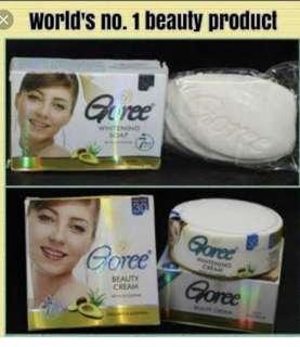 Goree whitening soap and cream